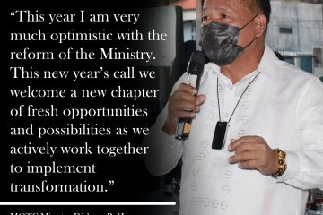 NEW YEAR, NEW BEGINNING, GREATER POSSIBILITIES